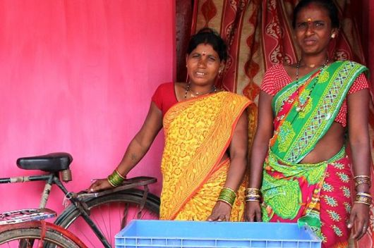 Fisher women in Odisha, India
